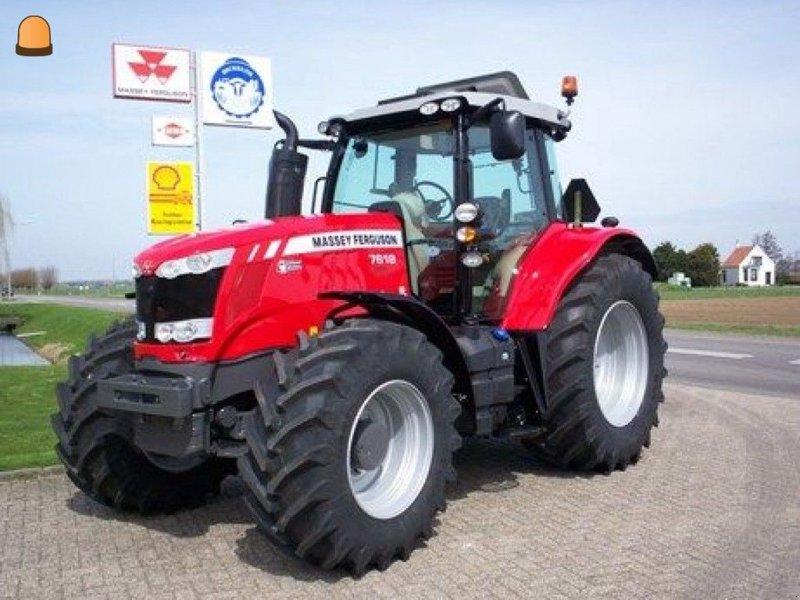 Traktor del tipo Massey Ferguson 7618, Gebrauchtmaschine en Zoetermeer (Imagen 1)
