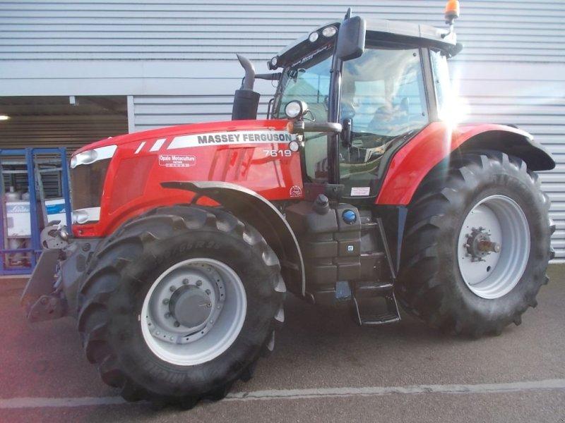 Traktor des Typs Massey Ferguson 7619 EX DVT, Gebrauchtmaschine in Ste Catherine (Bild 1)