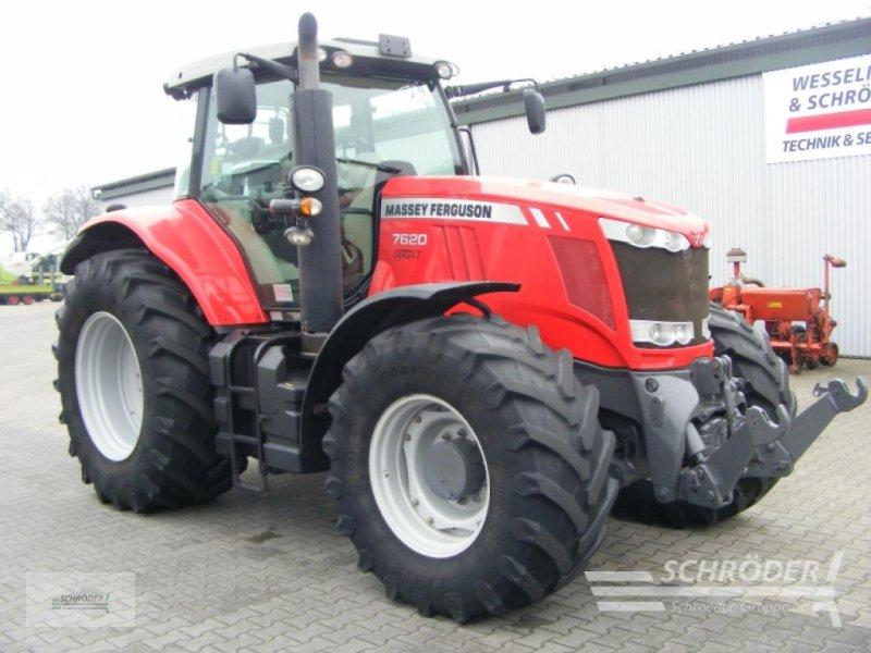 Traktor des Typs Massey Ferguson 7620 Exclusive Dyna VT, Gebrauchtmaschine in Lastrup (Bild 1)