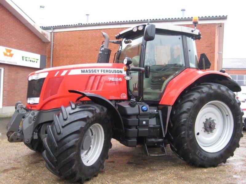 Traktor des Typs Massey Ferguson 7624 DYNA VT EX, Gebrauchtmaschine in Videbæk (Bild 1)
