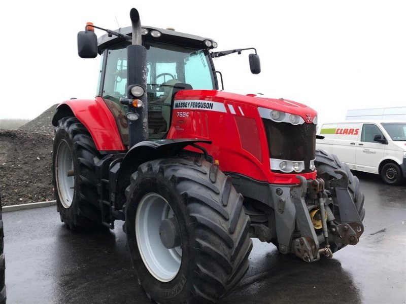 Traktor des Typs Massey Ferguson 7624 Dyna-VT Exclusive, Gebrauchtmaschine in Vinderup (Bild 1)