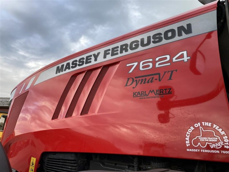Traktor типа Massey Ferguson 7624 Dyna-VT PÅ VEJ HJEM!, Gebrauchtmaschine в Aalestrup (Фотография 1)