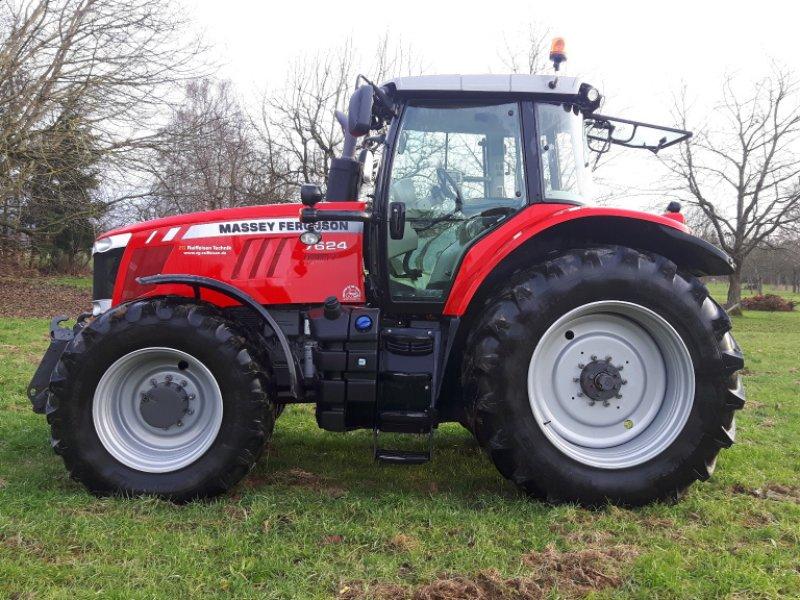 Traktor des Typs Massey Ferguson 7624 Dyna VT, Gebrauchtmaschine in Offenburg (Bild 3)