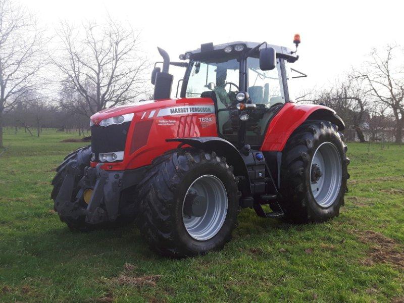 Traktor des Typs Massey Ferguson 7624 Dyna VT, Gebrauchtmaschine in Offenburg (Bild 4)