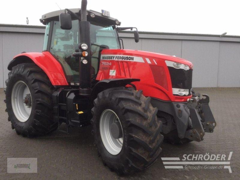 Traktor a típus Massey Ferguson 7624 Exclusive Dyna-VT, Gebrauchtmaschine ekkor: Jerichow - Kleinmangelsdorf (Kép 1)