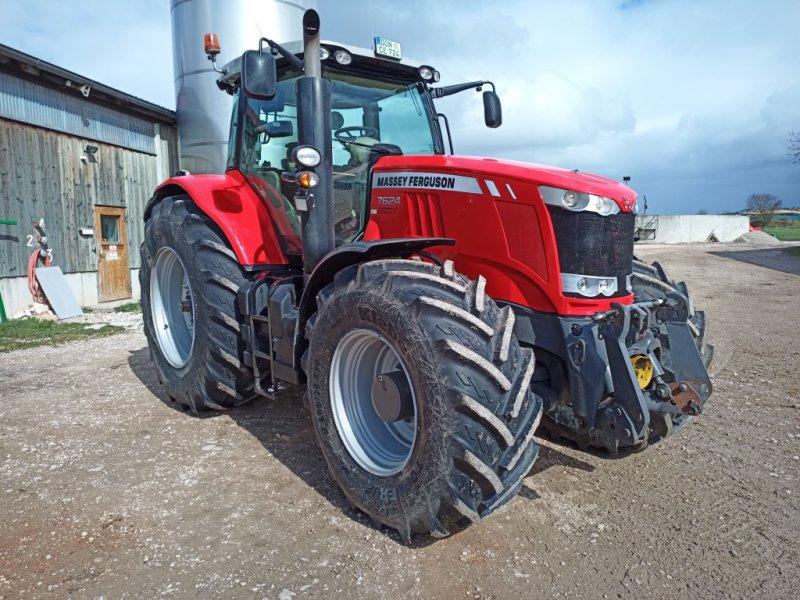 Traktor типа Massey Ferguson 7624, Gebrauchtmaschine в Deiningen (Фотография 1)