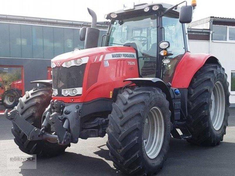 Traktor des Typs Massey Ferguson 7626 Exclusive  Miete ab 24,90 € /Betriebsstunde, Gebrauchtmaschine in Beselich-Obertiefenbach (Bild 1)