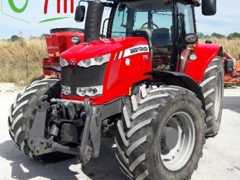 Traktor des Typs Massey Ferguson 7718 DVT EXCLUSIVE, Gebrauchtmaschine in POUSSAY (Bild 1)