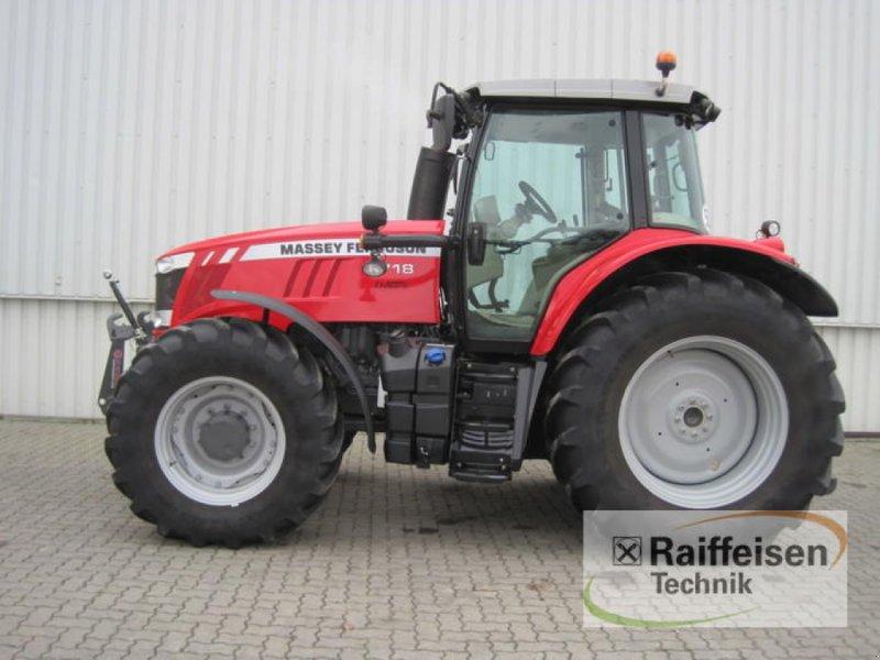 Traktor des Typs Massey Ferguson 7718 Dyna 6, Gebrauchtmaschine in Holle (Bild 1)