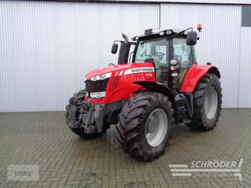 Traktor des Typs Massey Ferguson 7718 DYNA-VT EXCLUSI, Gebrauchtmaschine in Wildeshausen (Bild 1)