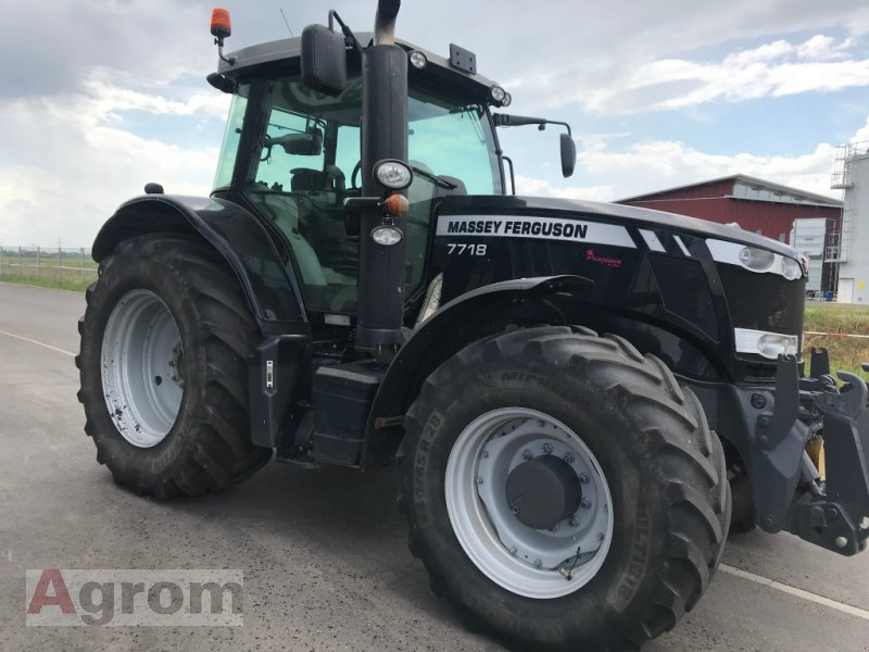 Traktor a típus Massey Ferguson 7718 Dyna-VT EXCLUSIVE, Gebrauchtmaschine ekkor: Neuried (Kép 11)