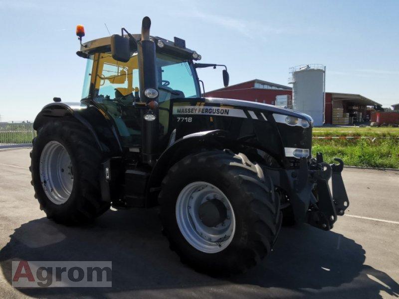 Traktor a típus Massey Ferguson 7718 Dyna-VT EXCLUSIVE, Gebrauchtmaschine ekkor: Neuried (Kép 20)