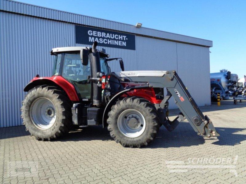Traktor des Typs Massey Ferguson 7718 S Dyna-VT Exclusive, Gebrauchtmaschine in Wildeshausen (Bild 1)