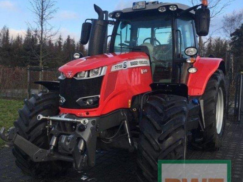 Traktor des Typs Massey Ferguson 7718 S EXCLUSIV, Gebrauchtmaschine in Geldern (Bild 1)