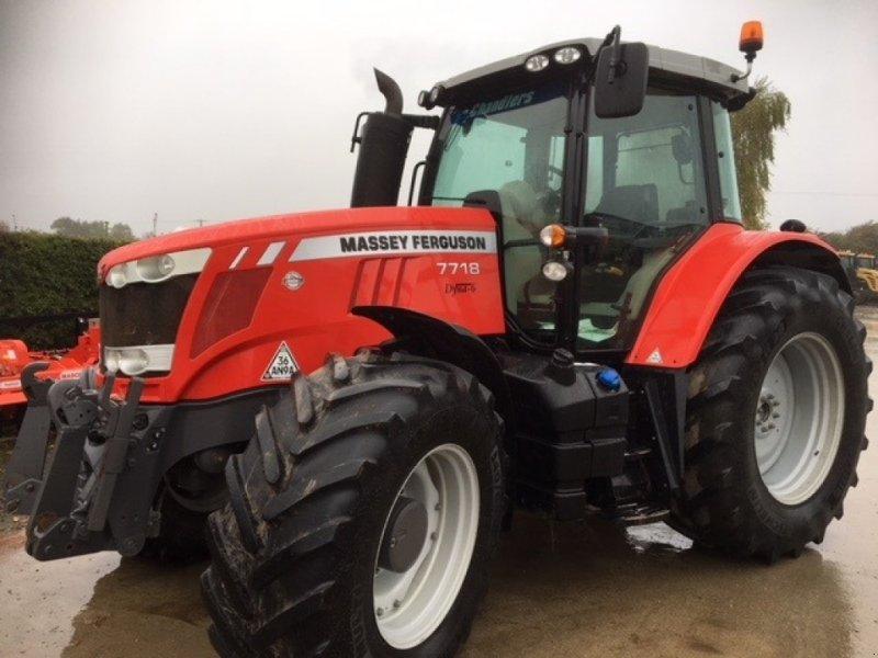 Traktor des Typs Massey Ferguson 7718, Gebrauchtmaschine in Grantham (Bild 1)