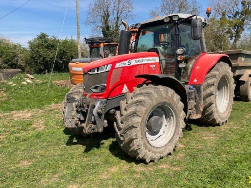 Traktor des Typs Massey Ferguson 7718, Gebrauchtmaschine in Thornbury (Bild 1)
