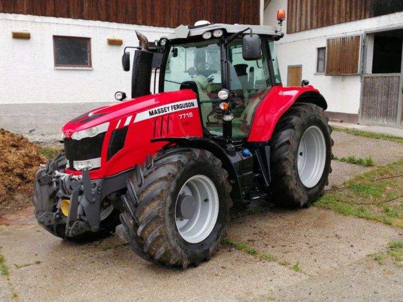 Traktor des Typs Massey Ferguson 7718, Gebrauchtmaschine in Osterhofen (Bild 1)