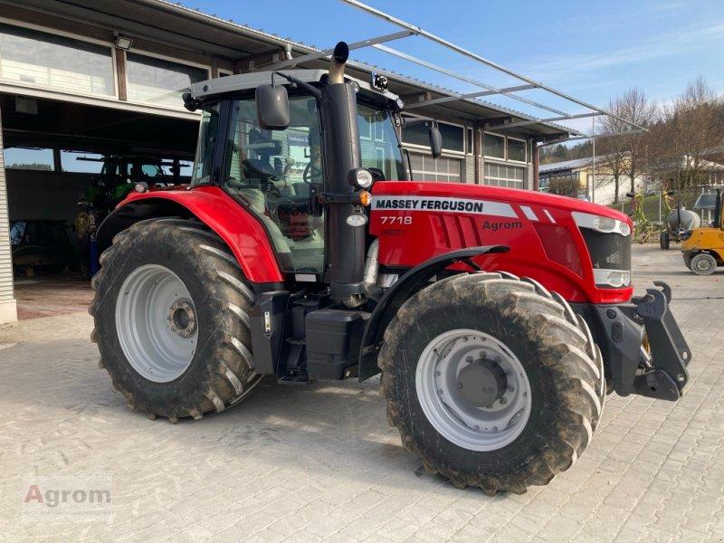 Traktor des Typs Massey Ferguson 7718, Gebrauchtmaschine in Münsingen (Bild 1)