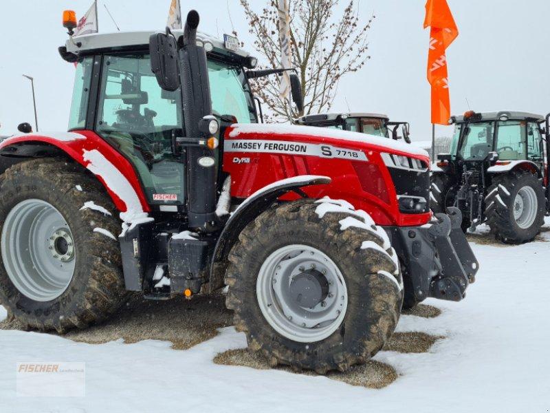 Traktor des Typs Massey Ferguson 7718, Gebrauchtmaschine in Pfoerring (Bild 1)