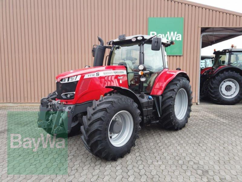 Traktor des Typs Massey Ferguson 7718S DYNA-6 EFFICIENT, Gebrauchtmaschine in Manching (Bild 1)