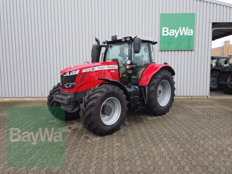 Traktor du type Massey Ferguson 7718S DYNA-6 EFFICIENT, Gebrauchtmaschine en Manching (Photo 1)