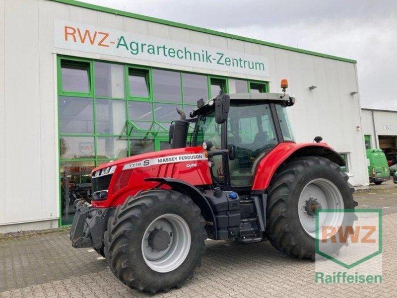 Traktor des Typs Massey Ferguson 7718S Dyna VT Exclusive, Gebrauchtmaschine in Geldern (Bild 1)