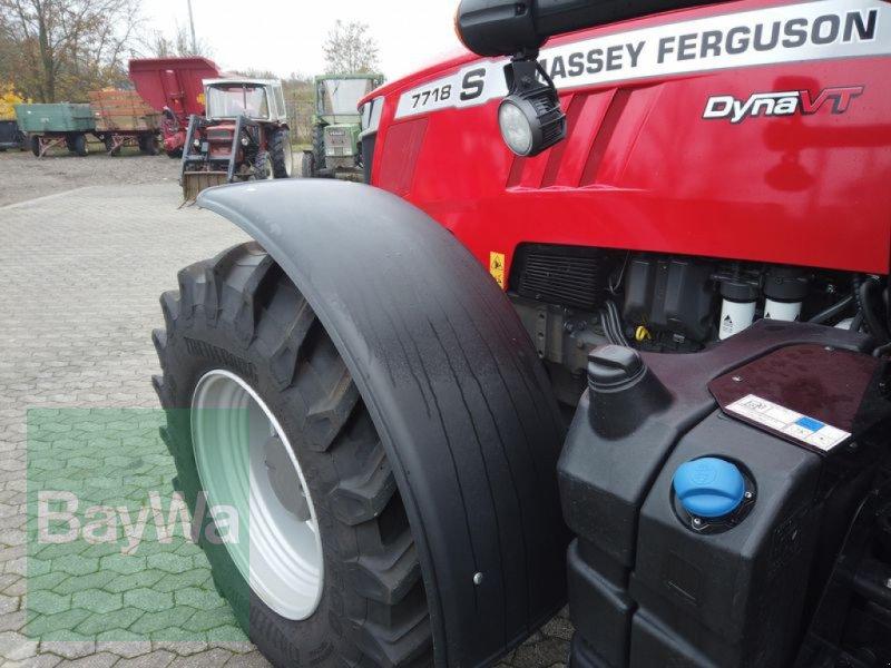 Traktor des Typs Massey Ferguson 7718S DYNA-VT EXCLUSIVE, Gebrauchtmaschine in Manching (Bild 8)