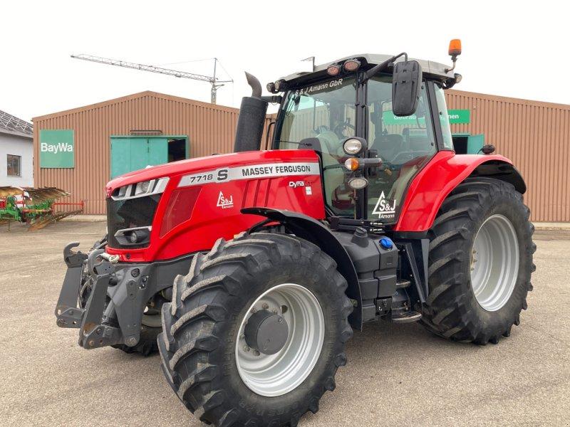 Traktor des Typs Massey Ferguson 7718S Dyna-VT Exclusive, Gebrauchtmaschine in Bayern - Obertraubling (Bild 1)