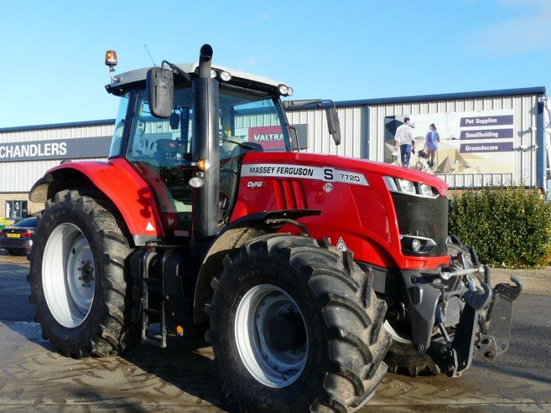Traktor des Typs Massey Ferguson 7720, Gebrauchtmaschine in Grantham (Bild 1)