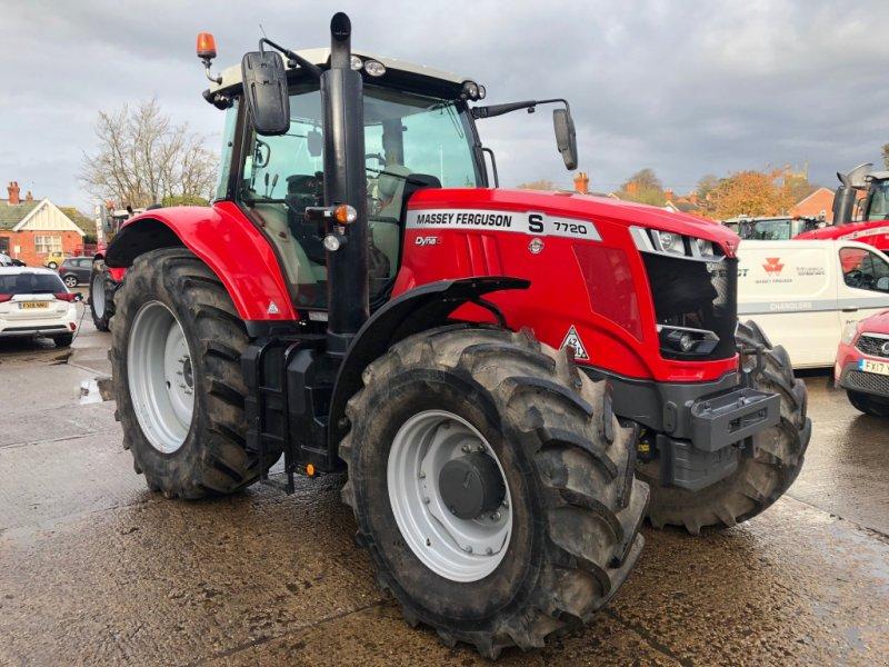 Traktor des Typs Massey Ferguson 7720, Gebrauchtmaschine in Lutterworth (Bild 1)