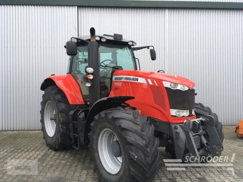 Traktor des Typs Massey Ferguson 7722 DYNA-VT EXCLUSI, Gebrauchtmaschine in Wildeshausen (Bild 1)