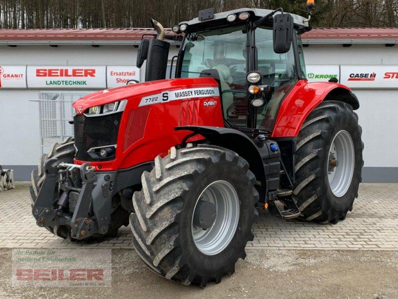 Traktor типа Massey Ferguson 7722 S  DYNA VT, Gebrauchtmaschine в Ansbach (Фотография 1)