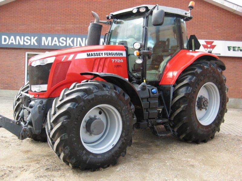 Traktor типа Massey Ferguson 7724 DYNA 6 EX, Gebrauchtmaschine в Videbæk (Фотография 1)