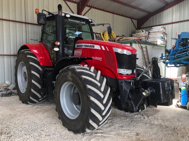 Traktor tipa Massey Ferguson 7724 DYNA-6 EXCLUSIVE, Gebrauchtmaschine u Channes (Slika 1)