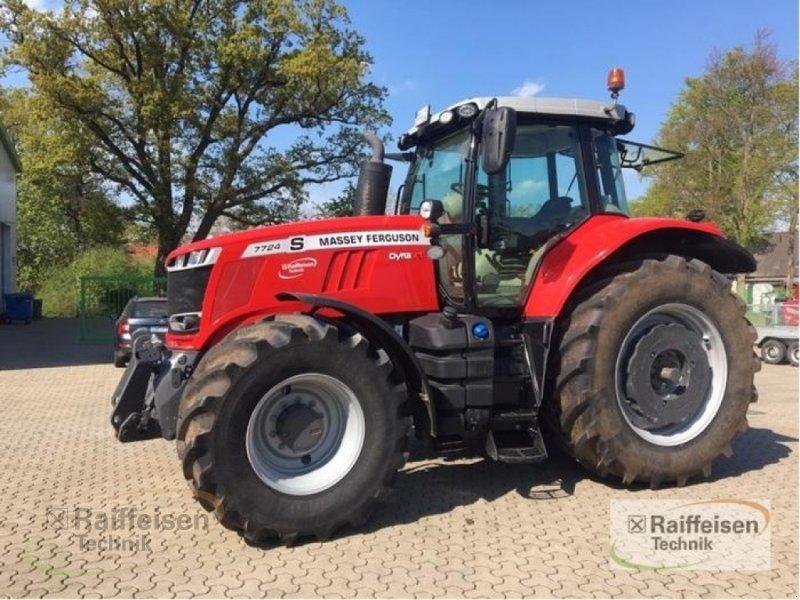 Traktor des Typs Massey Ferguson 7724 S Dyna-VT Exclusive, Gebrauchtmaschine in Tülau-Voitze (Bild 1)