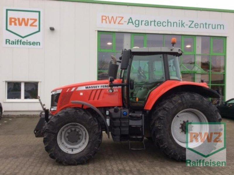 Traktor типа Massey Ferguson 7724 VT EXCLUS, Gebrauchtmaschine в Geldern (Фотография 1)
