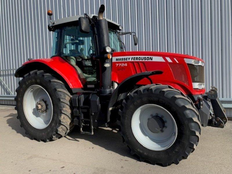 Traktor типа Massey Ferguson 7724, Gebrauchtmaschine в ROYE (Фотография 1)