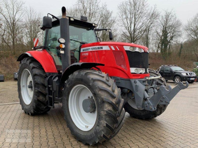 Traktor des Typs Massey Ferguson 7726 DYNA 6 Allrad, Gebrauchtmaschine in Bramsche (Bild 1)