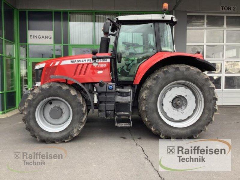 Traktor des Typs Massey Ferguson 7726 Dyna-VT Exclusive, Gebrauchtmaschine in Homberg/Efze (Bild 1)