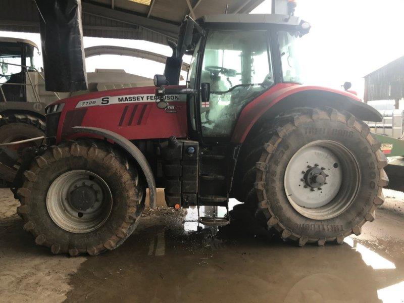 Traktor типа Massey Ferguson 7726 VT Exclusiv, Gebrauchtmaschine в Grantham (Фотография 1)