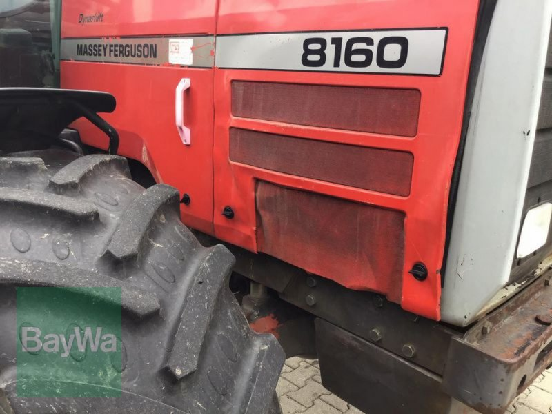 Traktor des Typs Massey Ferguson 8160, Gebrauchtmaschine in Pfarrkirchen (Bild 7)