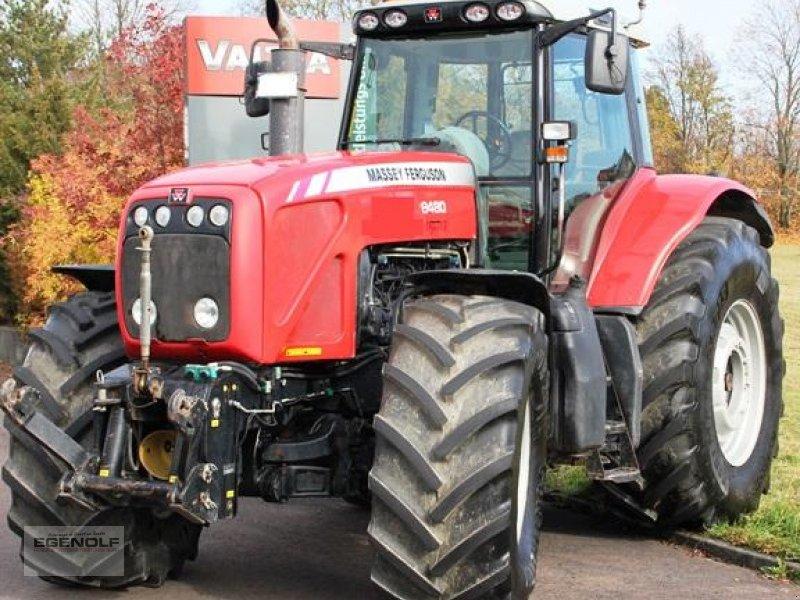 Traktor des Typs Massey Ferguson 8480  Miete möglich ab 26,90 € /Betriebsstunde  neuem Triebsatz und neuem Austauschmotor 08/2019, Gebrauchtmaschine in Beselich-Obertiefenbach (Bild 1)