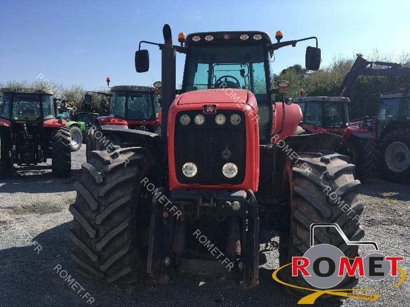 Traktor типа Massey Ferguson 8480, Gebrauchtmaschine в Gennes sur glaize (Фотография 1)