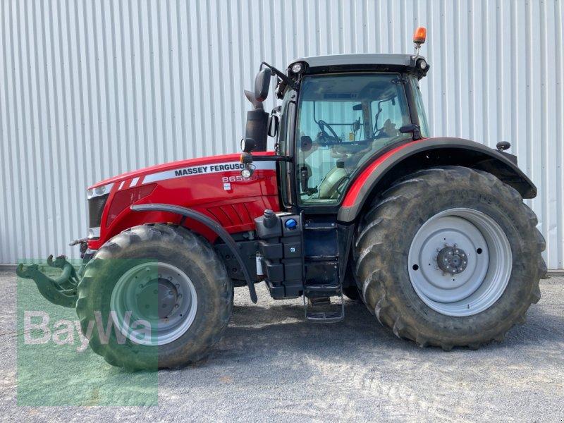 Traktor des Typs Massey Ferguson 8650 Dyna VT, Gebrauchtmaschine in Giebelstadt (Bild 3)