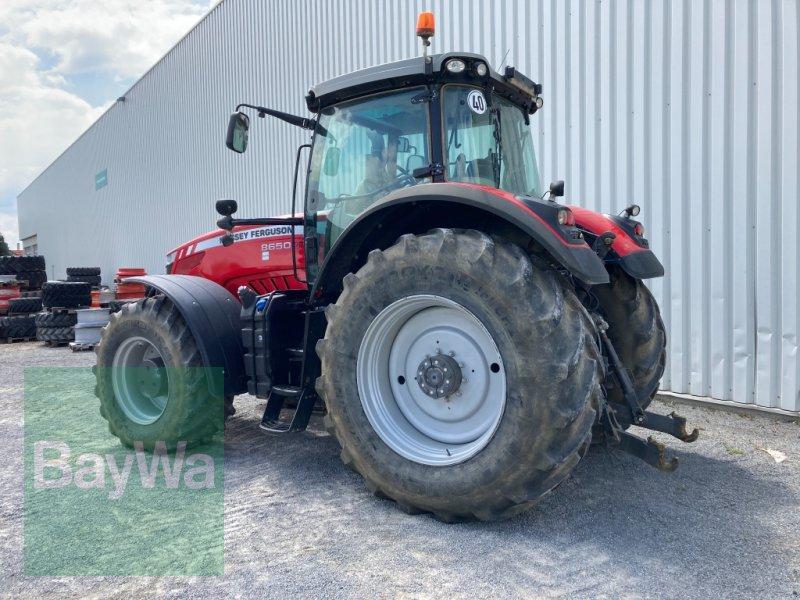 Traktor des Typs Massey Ferguson 8650 Dyna VT, Gebrauchtmaschine in Giebelstadt (Bild 4)