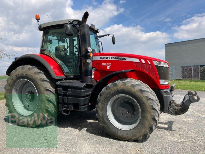 Traktor des Typs Massey Ferguson 8650 Dyna VT, Gebrauchtmaschine in Giebelstadt (Bild 9)