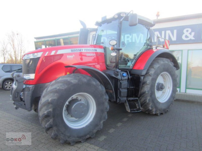 Traktor des Typs Massey Ferguson 8660 DVT, Gebrauchtmaschine in Schoenberg (Bild 1)