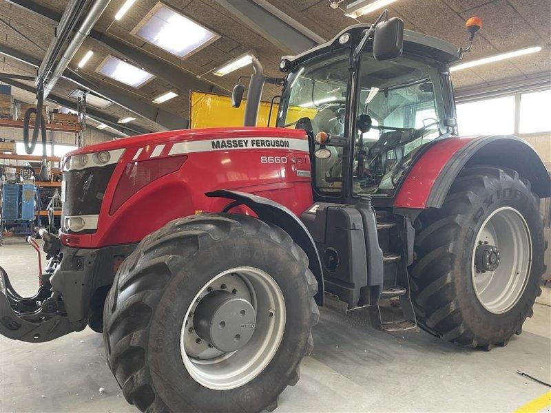 Traktor des Typs Massey Ferguson 8660 DYNA-VT FRONT PTO, Gebrauchtmaschine in Støvring (Bild 1)