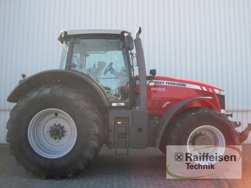 Traktor des Typs Massey Ferguson 8660 Dyna-VT, Gebrauchtmaschine in Holle (Bild 2)