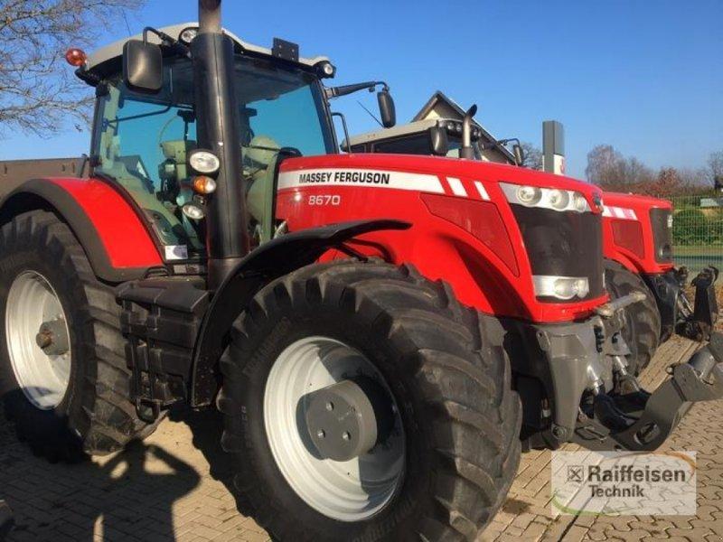 Traktor des Typs Massey Ferguson 8670 Dyna-VT, Gebrauchtmaschine in Tülau-Voitze (Bild 1)